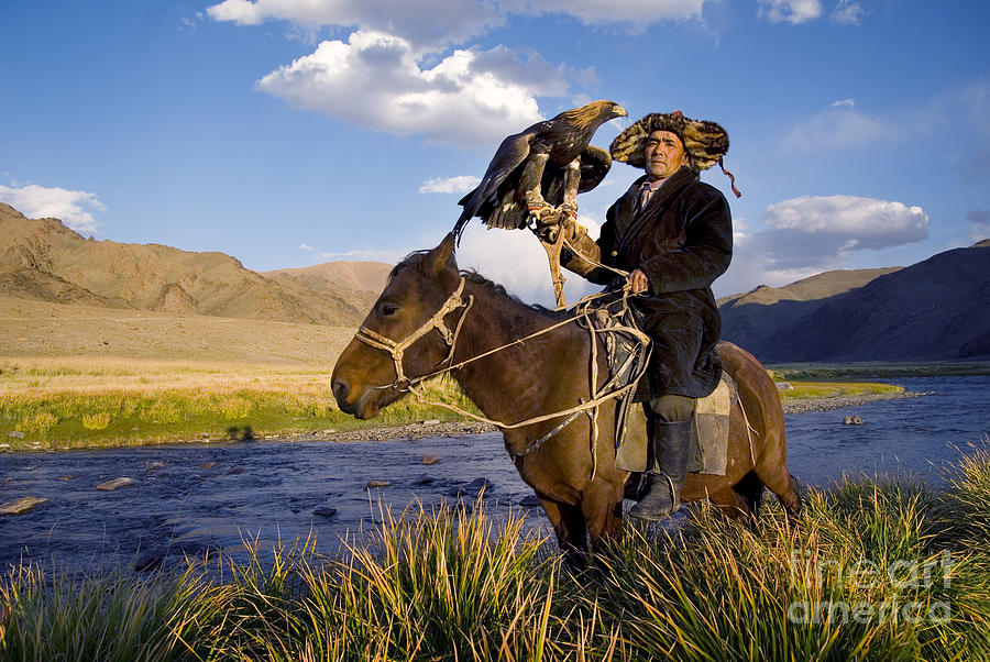 Pets Photograph - Kazakh Men Traditionally Hunt Foxes And by Rawpixel.com