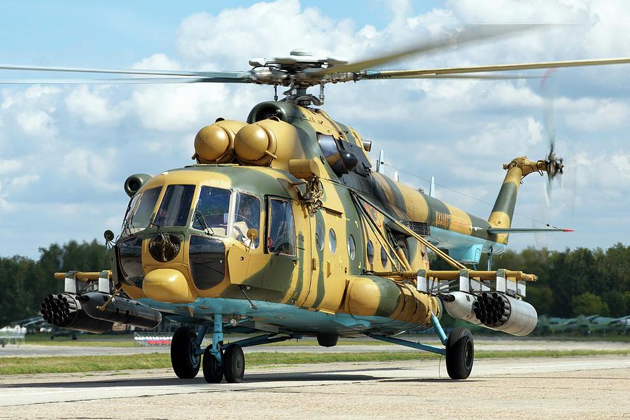 Kazakhstan Air Defense Forces Mi-171sh by Daniele Faccioli