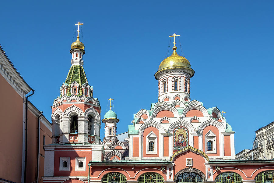 Kazan Cathedral, Moscow by Kay Brewer