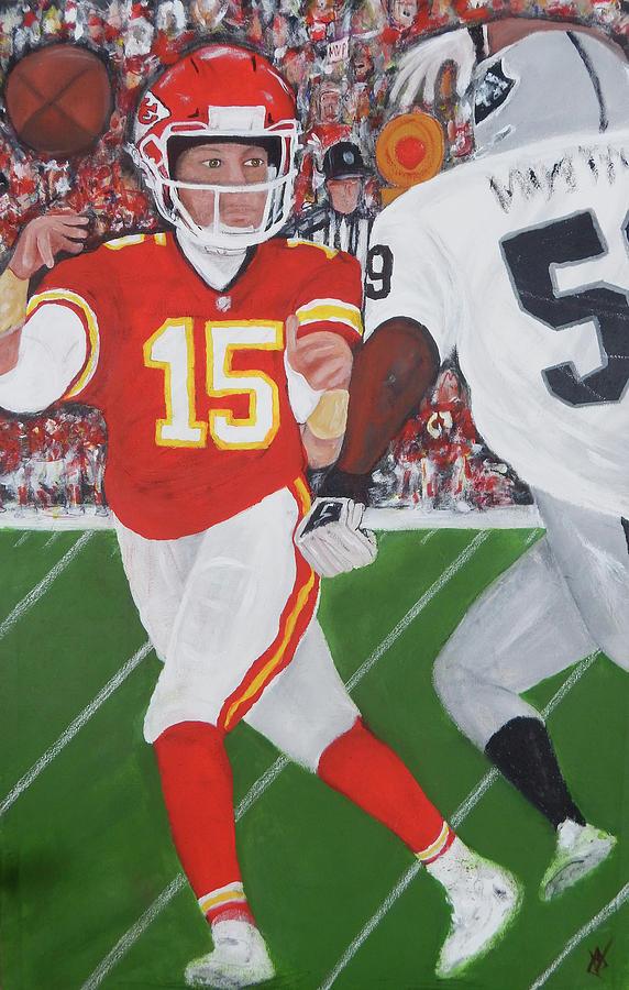 Kansas City Painting - KC MVP Full by Jorge Delara
