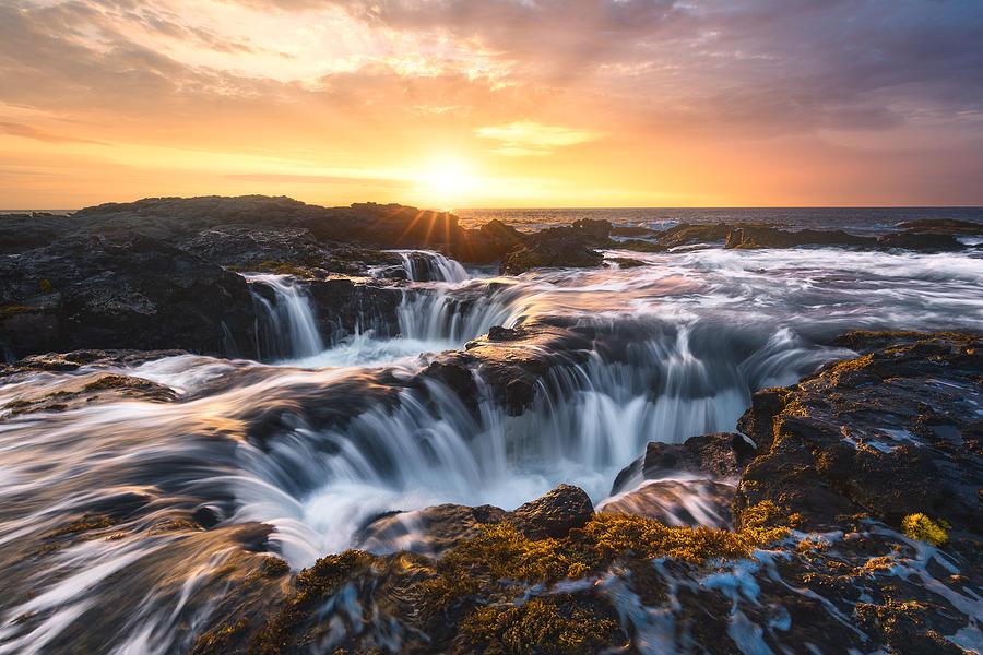 Keahole Point, Big Island, Hawaii, Usa Photograph
