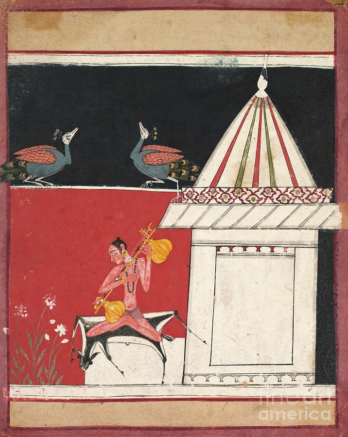 Kedara Ragini Drawing by Heritage Images