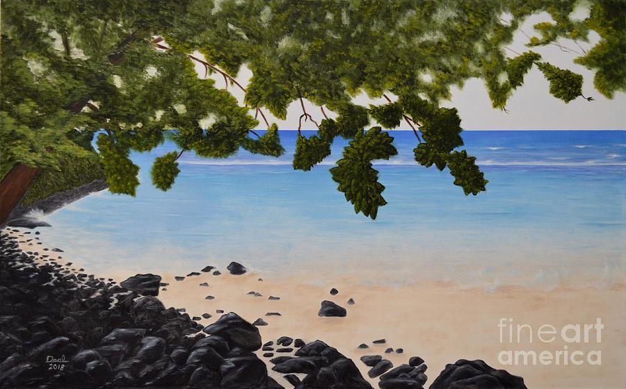 Kee Beach, Kauai Hawaii by Mary Deal