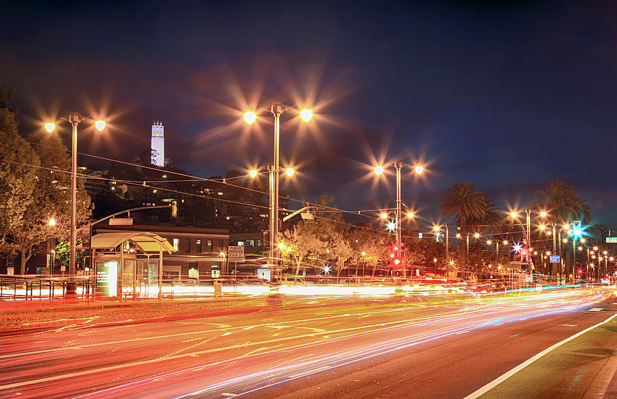 San Francisco Photograph - Keep On Moving by Laurie Search