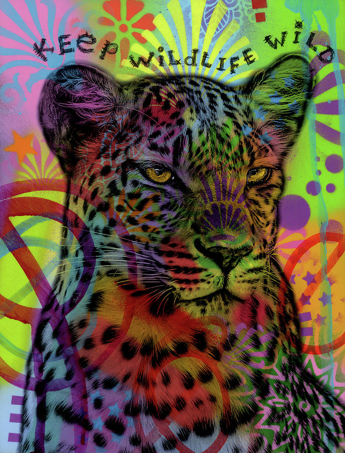 Animals Mixed Media - Keep Wildlife Wild by Dean Russo- Exclusive