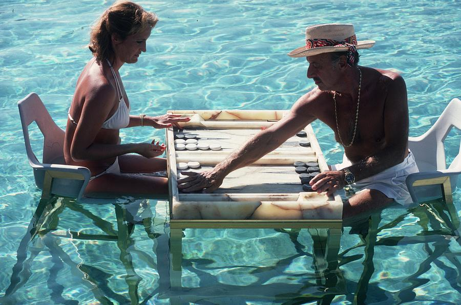 Keep Your Cool Photograph by Slim Aarons