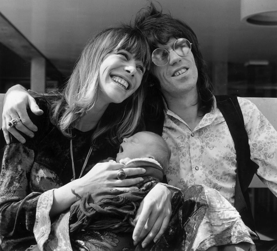 Keith And Anita Photograph by John Minihan