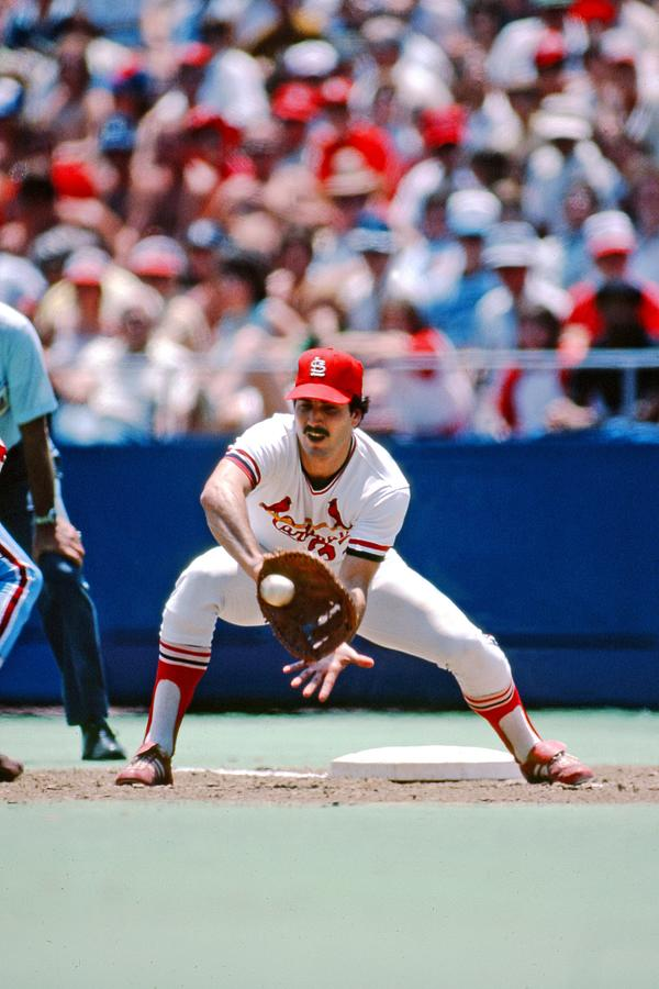 Keith Hernandez St. Louis Cardinals Photograph by St. Louis Cardinals, Llc