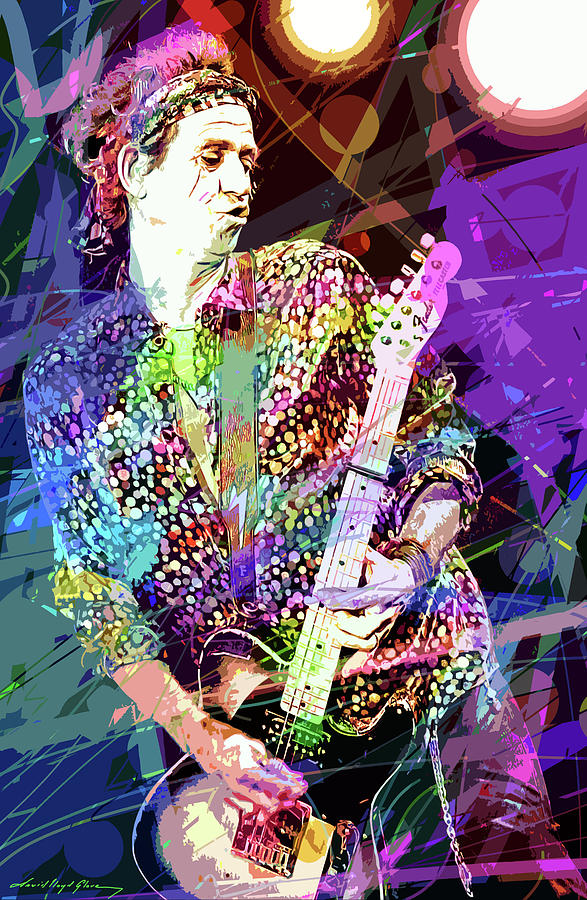 KEITH RICHARDS FOREVER by David Lloyd Glover
