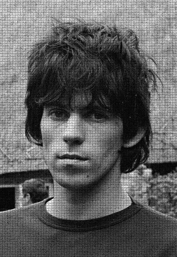 Keith Richards Photograph - Keith Richards Exclusive Copyright Image From 1967 By David Cole by David Cole