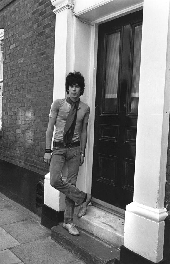 Keith Richards Photograph by Sherman
