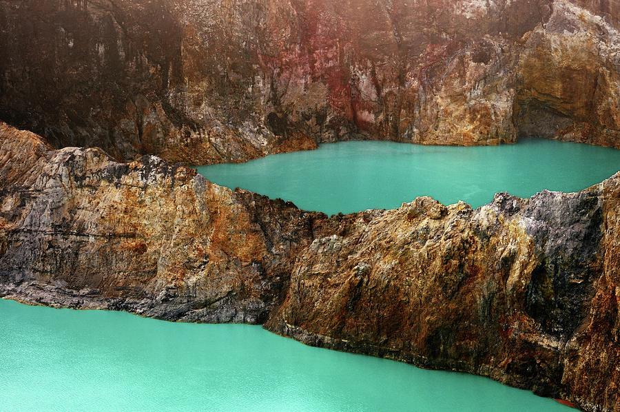 Kelimutu Lakes Photograph by Carlina Teteris