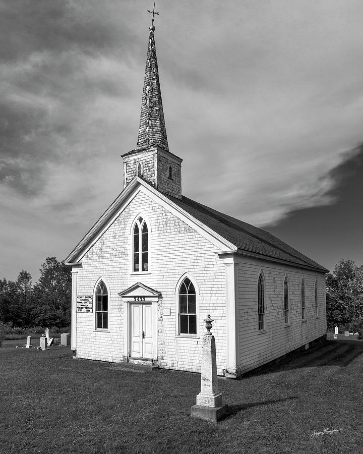 Kempt Shore Church by Jurgen Lorenzen
