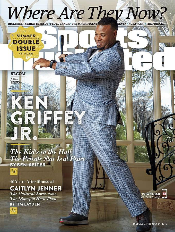 Ken Griffey Jr., Where Are They Now Sports Illustrated Cover Photograph by Sports Illustrated