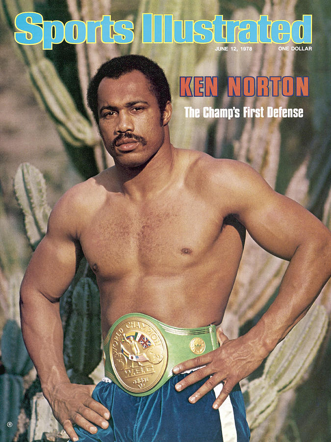 Ken Norton Sr, Heavyweight Boxing Sports Illustrated Cover Photograph by Sports Illustrated