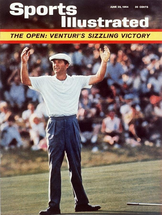 Ken Venturi, 1964 Us Open Sports Illustrated Cover Photograph by Sports Illustrated
