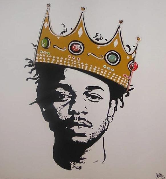 Kendrick the King by Antonio Moore