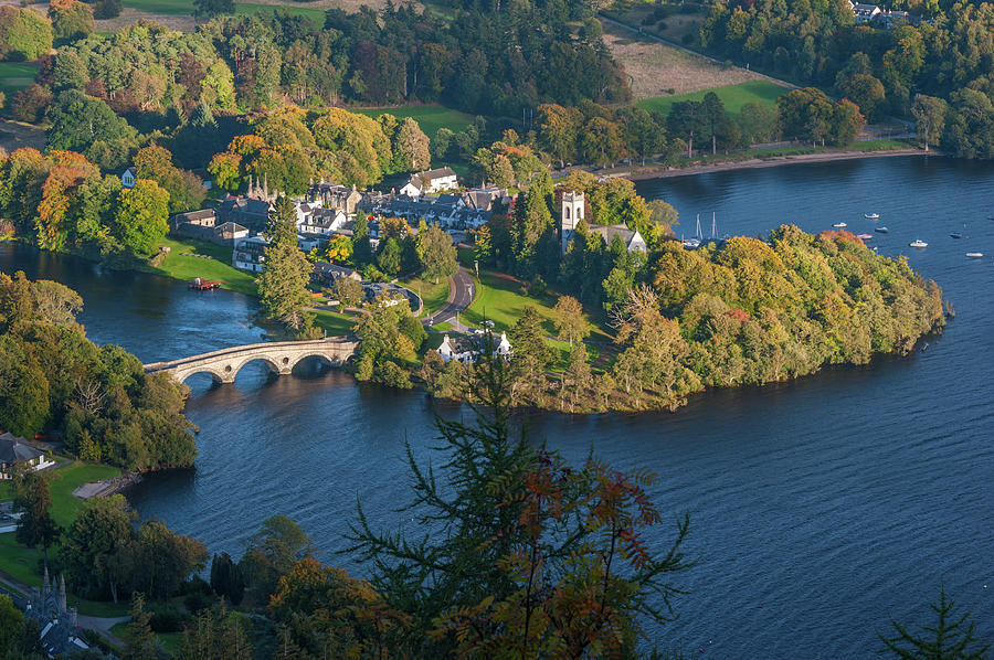 Britain Photograph - Kenmore And Loch Tay by David Ross