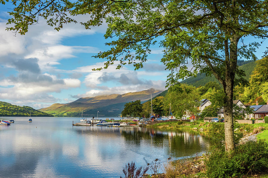 Kenmore And Loch Tay, Perthshire Photograph