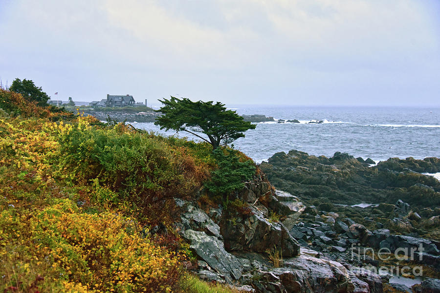 Kennebunkport, Maine, Coastline Photograph