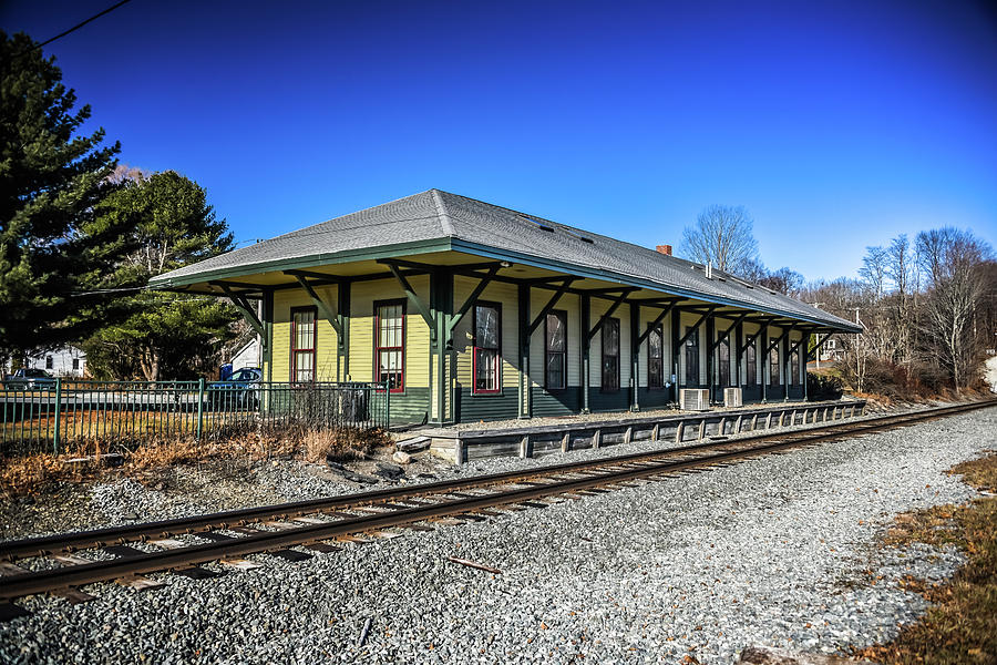 Kennebunkport Station by Guy Whiteley