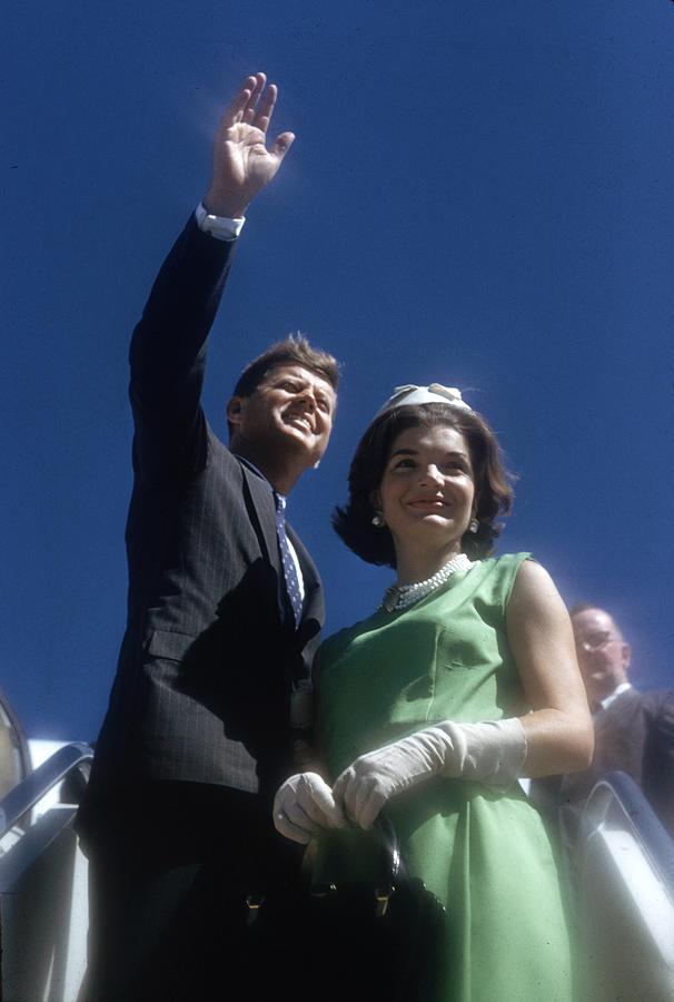 Kennedy Campaign Tour Photograph by Paul Schutzer