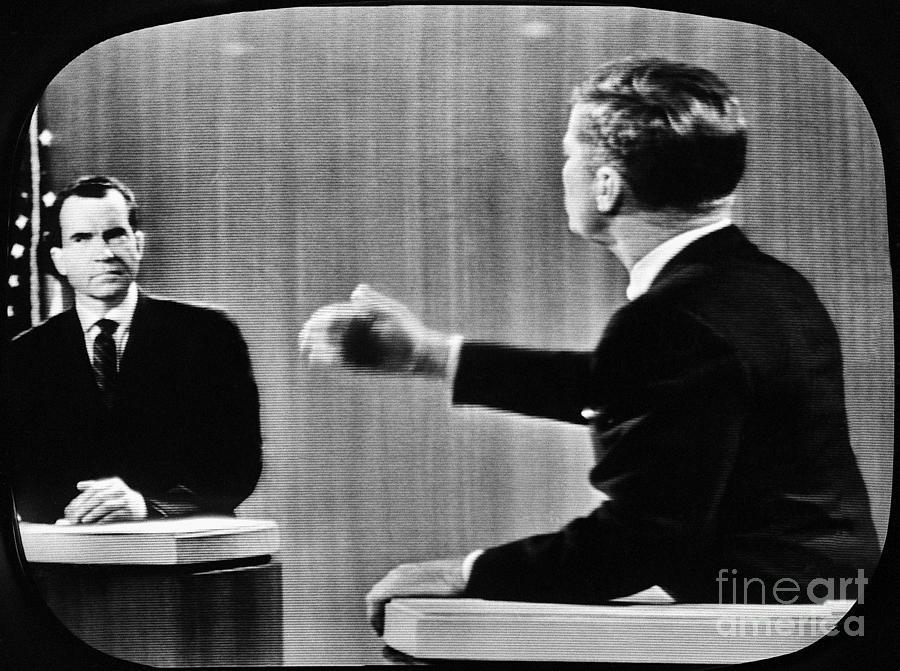 Kennedy Debating Nixon Photograph by Bettmann
