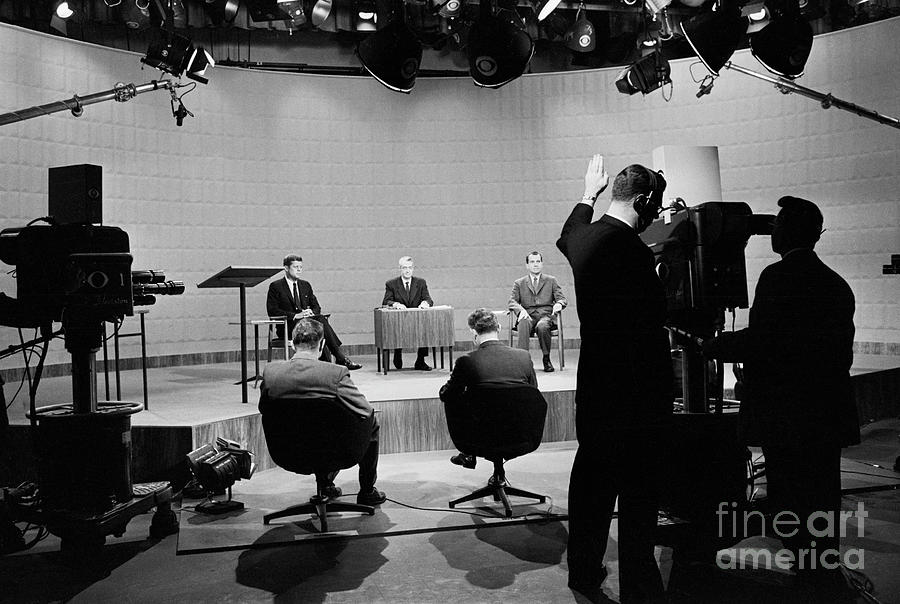 Kennedy-nixon Presidential Debate Photograph by Bettmann