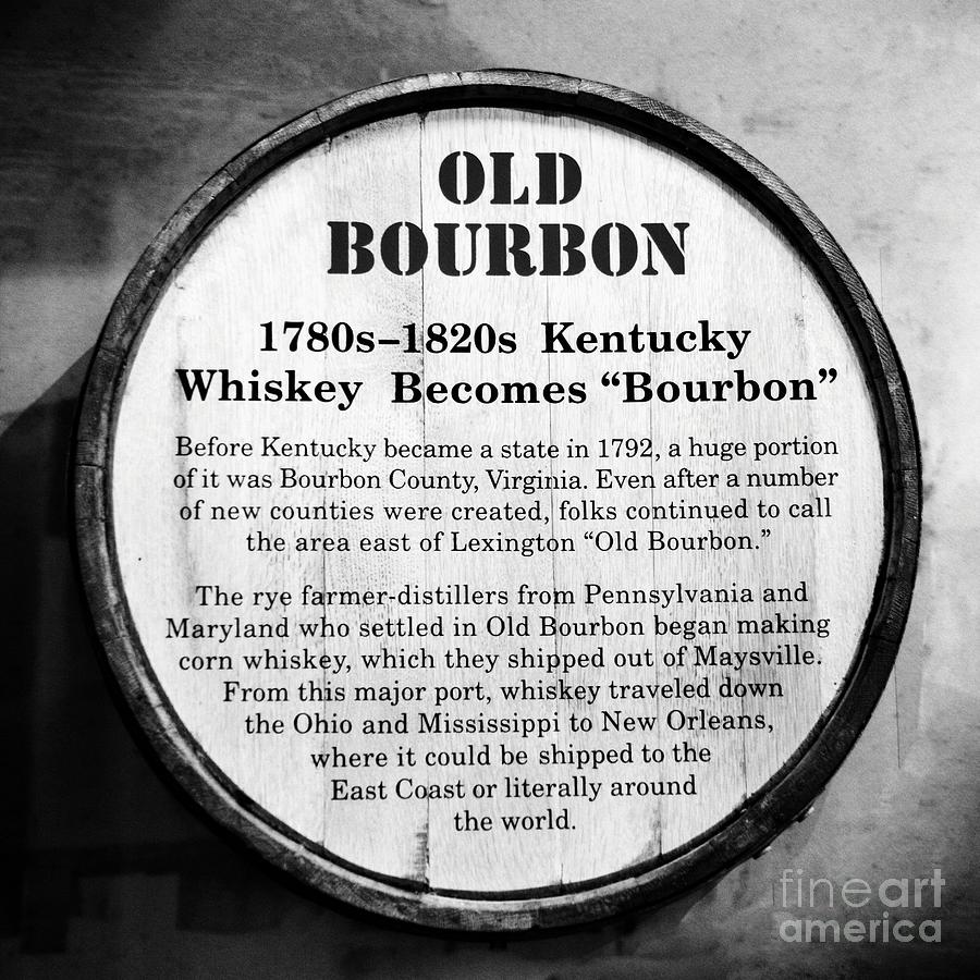 Kentucky Bourbon History by Mel Steinhauer