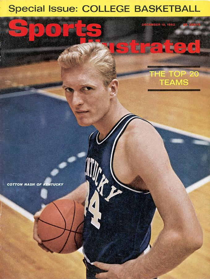 Kentucky Cotton Nash Sports Illustrated Cover Photograph by Sports Illustrated