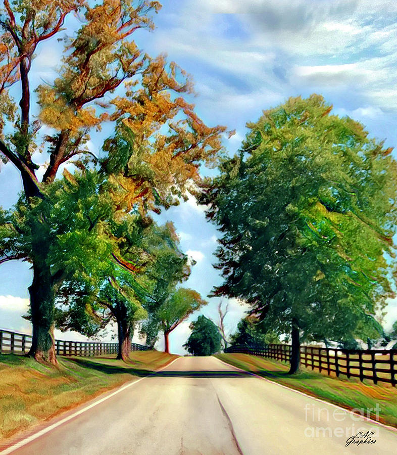 Kentucky Lane by CAC Graphics