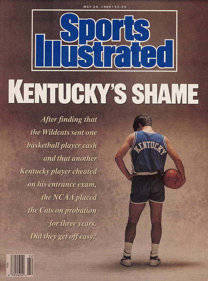 Kentuckys Shame Wildcats Basketball Scandal Sports Illustrated Cover Photograph by Sports Illustrated