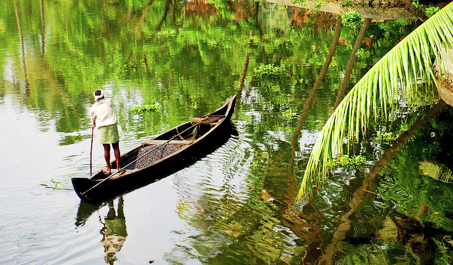 Kerala Backwaters Photograph by Gopan G Nair