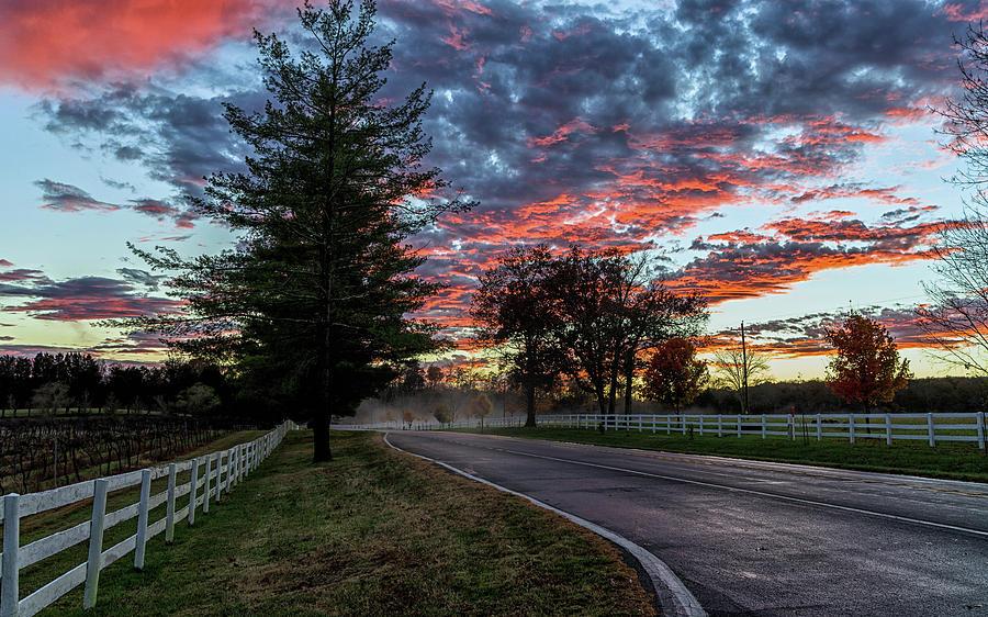 Keswick Sunset by Lori Coleman