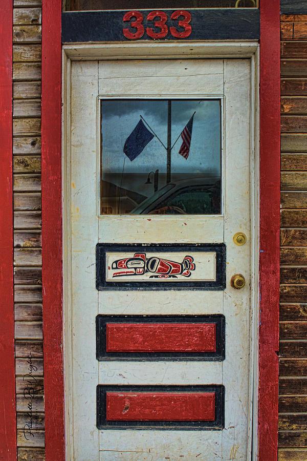 Ketchikan Door by Paulette B Wright