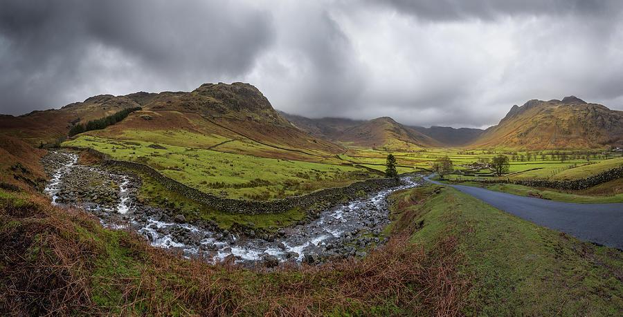 Kettle Crag & Langdales, Lake District Photograph by H Matthew Howarth [flatworldsedge]