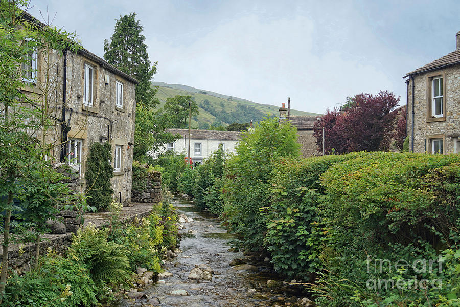 Kettlewell Village, North Yorkshire, England. by David Birchall