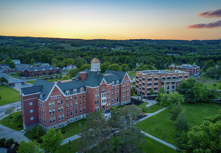 Keuka College Sunset 2019 by Ants Drone Photography