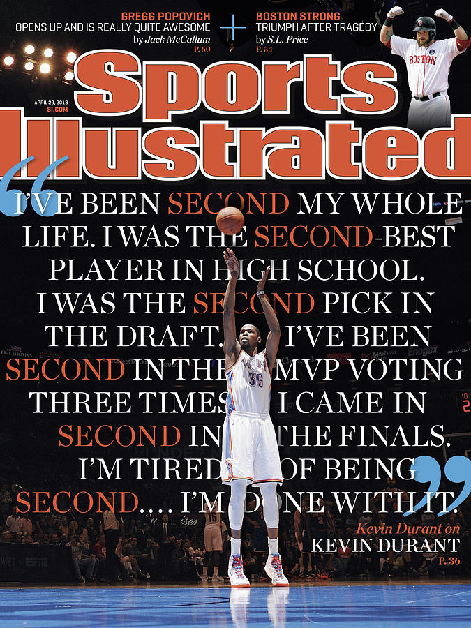 Kevin Durant On Kevin Durant Sports Illustrated Cover Photograph by Sports Illustrated