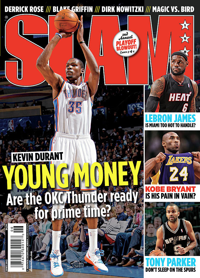Kevin Durant: Young Money SLAM Cover Photograph by Getty Images