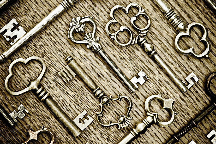 Key Collection Photograph by Catlane