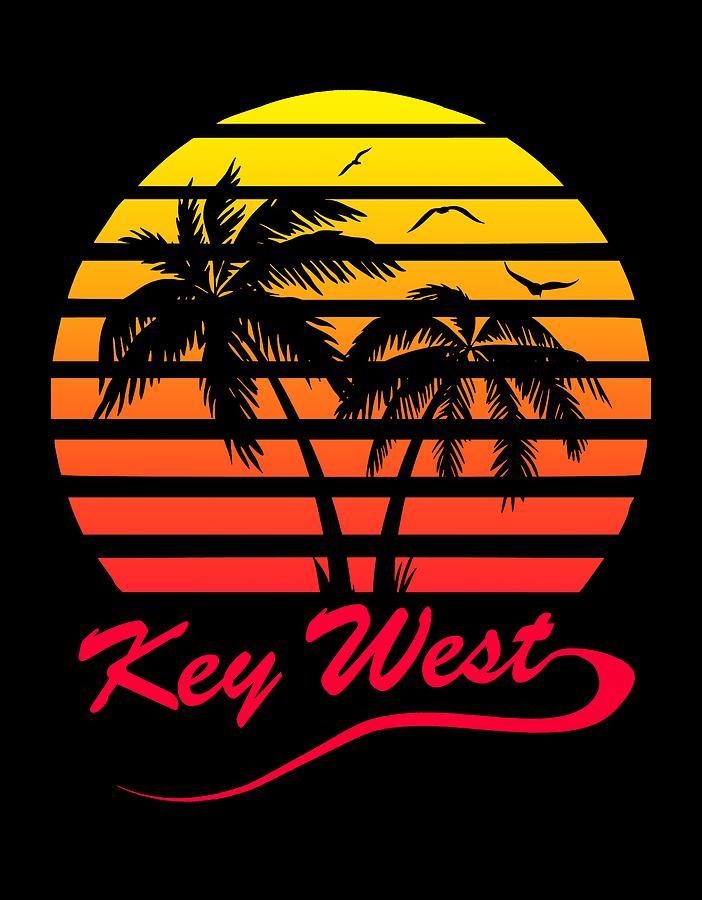 Key Digital Art - Key West by Filip Schpindel