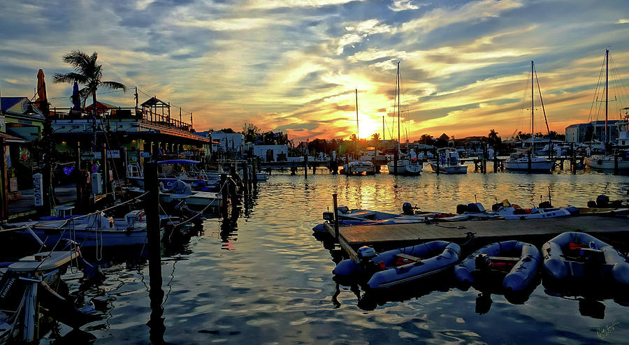 Key West Photograph - Key West Sunset by Rick Lawler