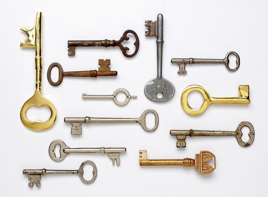 Keys Photograph by Tony Cordoza