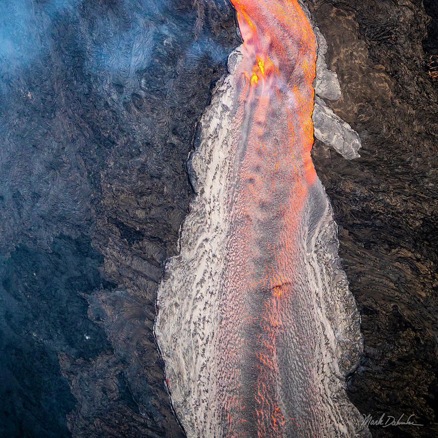 Kilauea Lava Flow #3 by Mark Dahmke