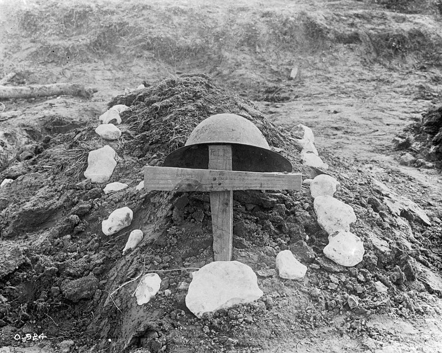 Killed In Action Photograph by Hulton Archive