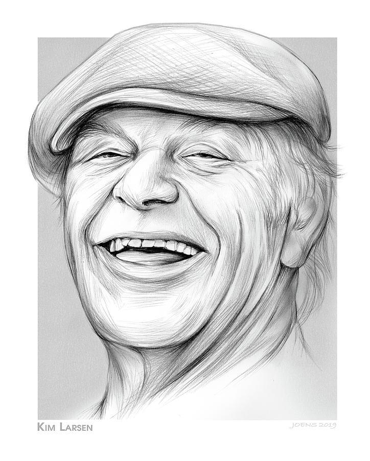Kim Larsen Drawing