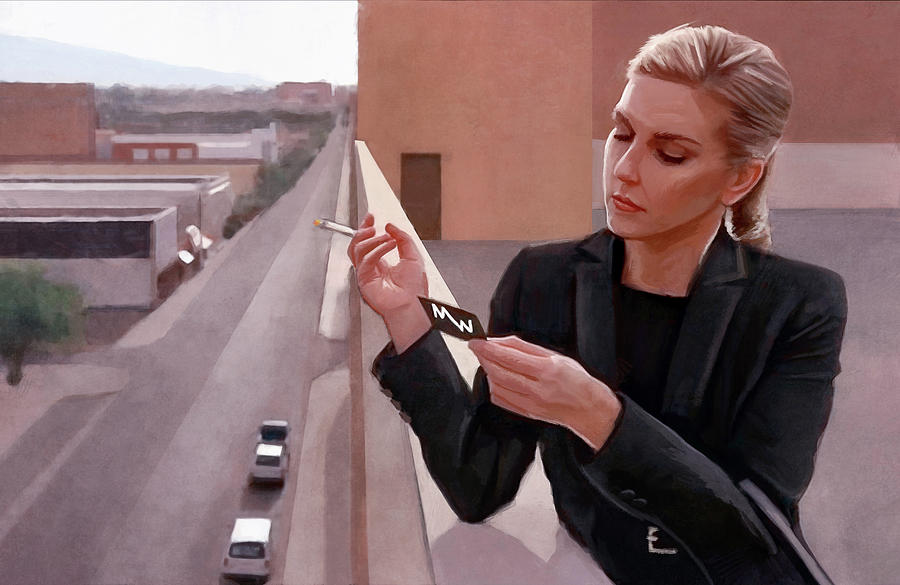 Kim Wexler On The Rooftop Better Call Saul