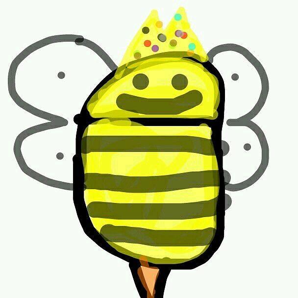 King Bee by The Art Of Marilyn Ridoutt-Greene