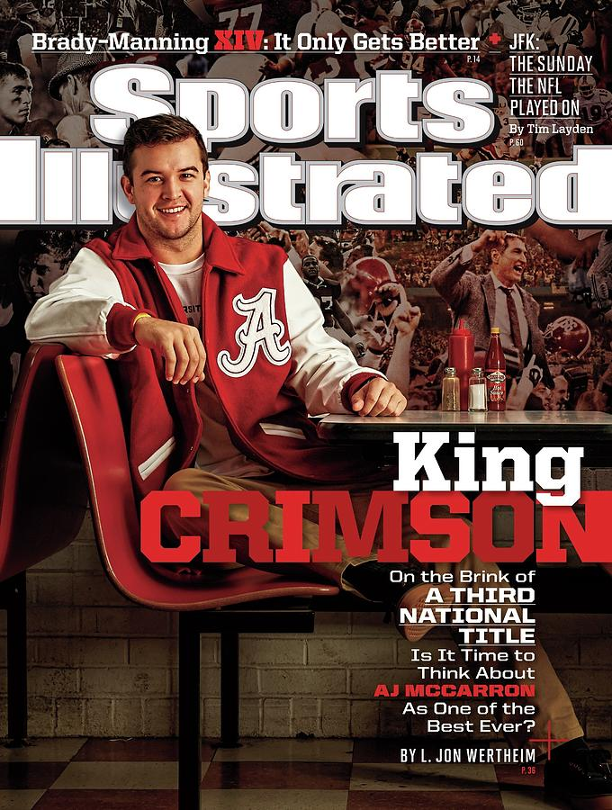 King Crimson Is It Time To Think About Aj Mccarron As One Sports Illustrated Cover Photograph by Sports Illustrated